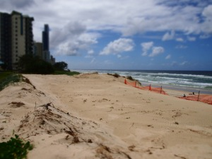 Northcliffe dune - now gone