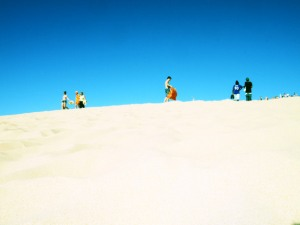 Pyla Dune in France - Europe's largest dune and strategically capitalises on a huge dune tourism market.