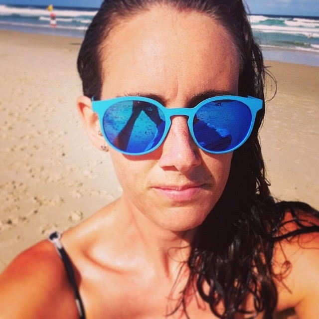 Naomi Edwards_selfie_on the beach