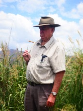 Bill Nicholas, a farmer from the region